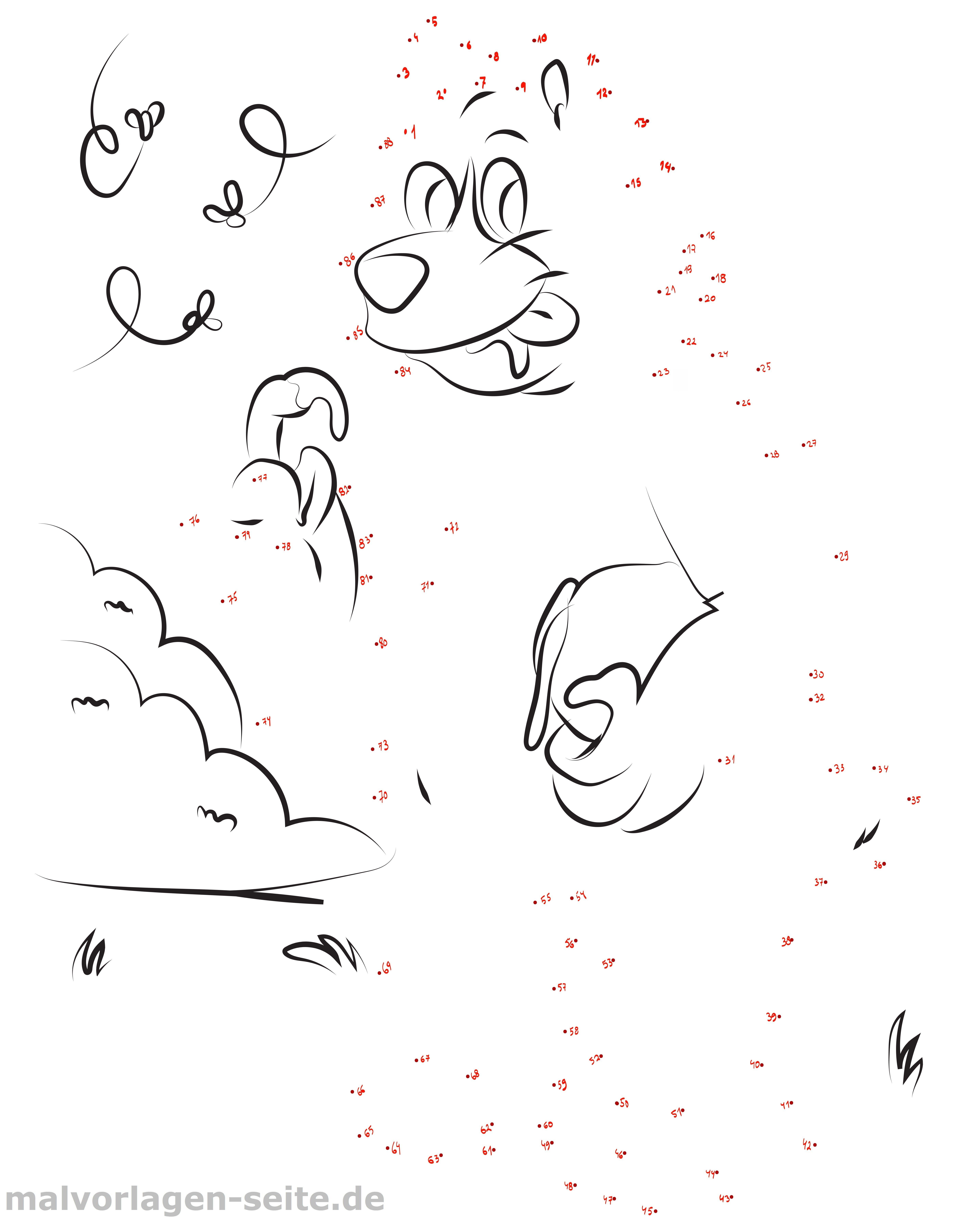 punkt zu malvorlagen kostenlos | coloring and malvorlagan