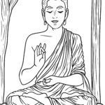 Coloring page Buddhism | religion