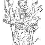 Malvorlage Hinduismus | Religion
