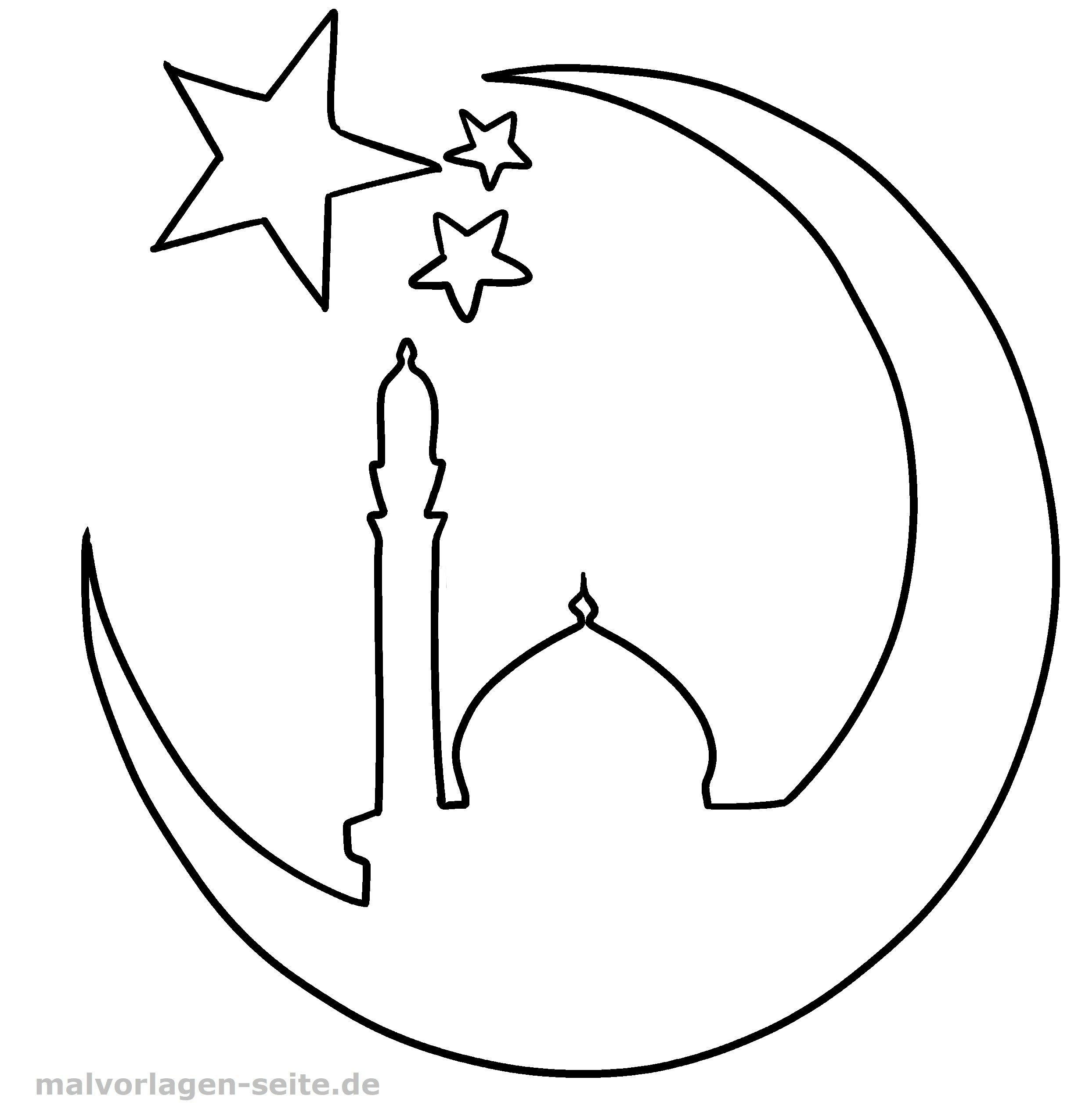 Malvorlage Islam Religion