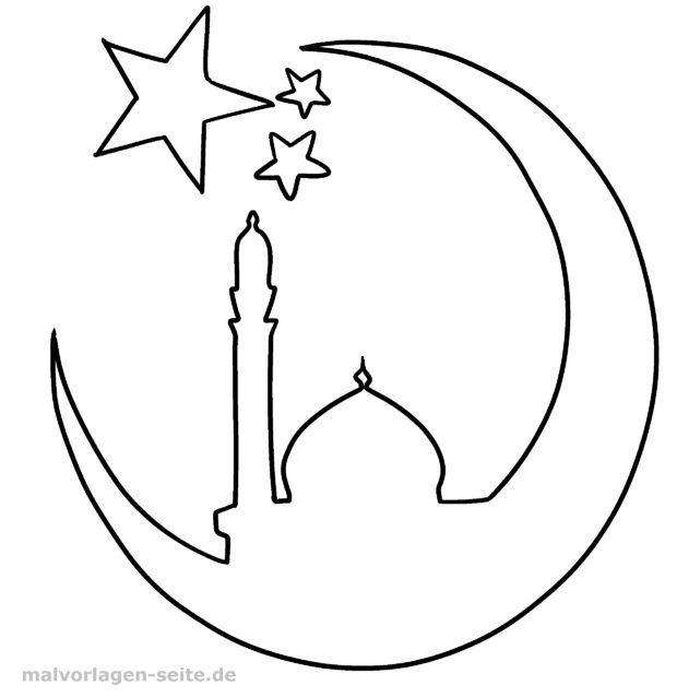 Islamitische Kleurplaten.Kleurplaat Islam Gratis Kleurpagina S Om Te Downloaden