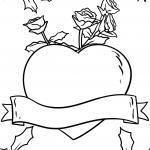 Disegni di rose da colorare | Rose - Disegni da colorare gratis