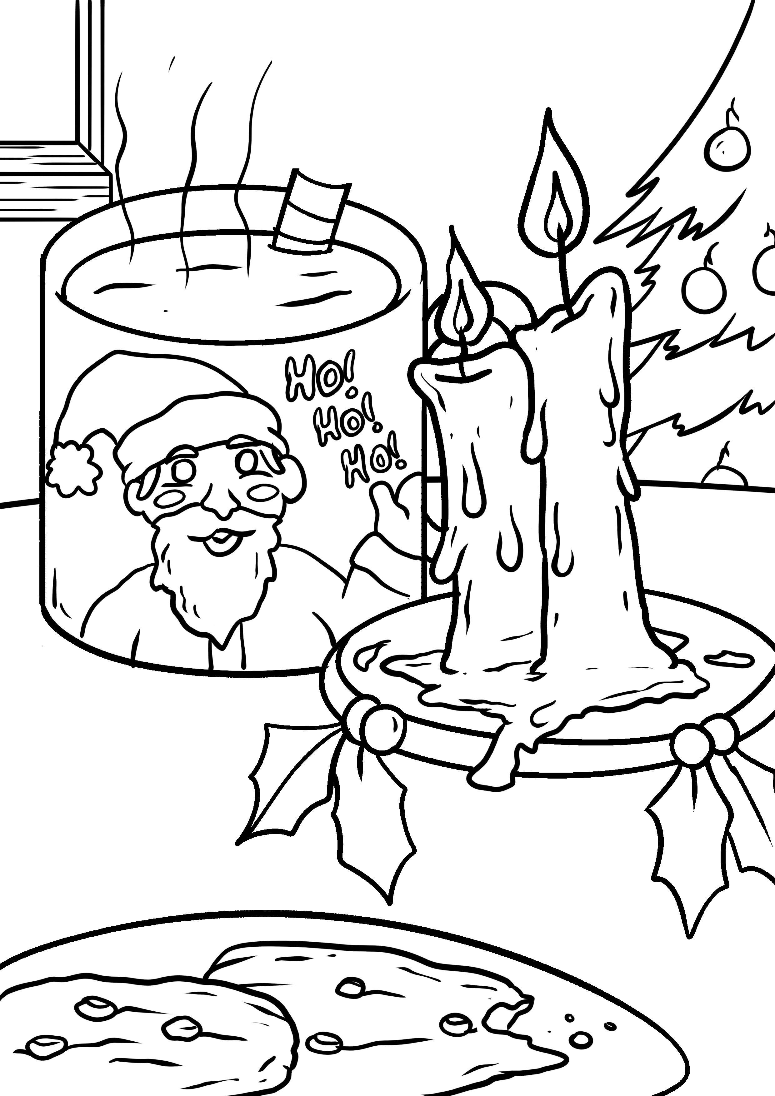 malvorlage weihnachten - ausmalbilder kostenlos herunterladen