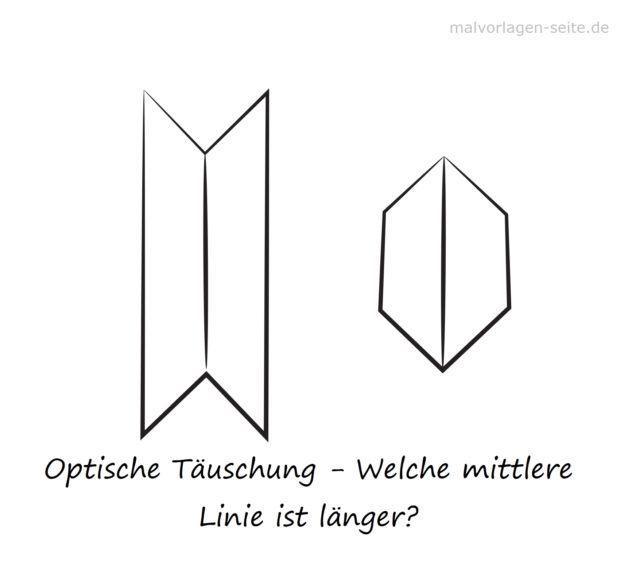 Optinen illuusio - linja