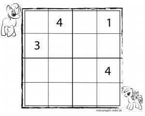 Besplatni sudoku predlošci za djecu