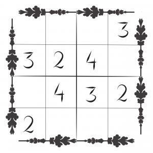 Sudoku-ŝablono por infanoj