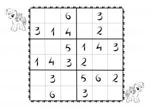 graphic relating to 6x6 Sudoku Printable identify Down load and print sudoku templates for children 6x6 for free of charge