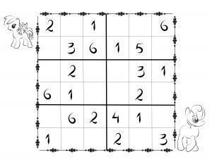 Sudoku kids 6x6