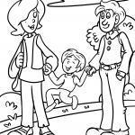 Ausmalbilder Familie & Haushalt - Kostenlose Ausmalbilder