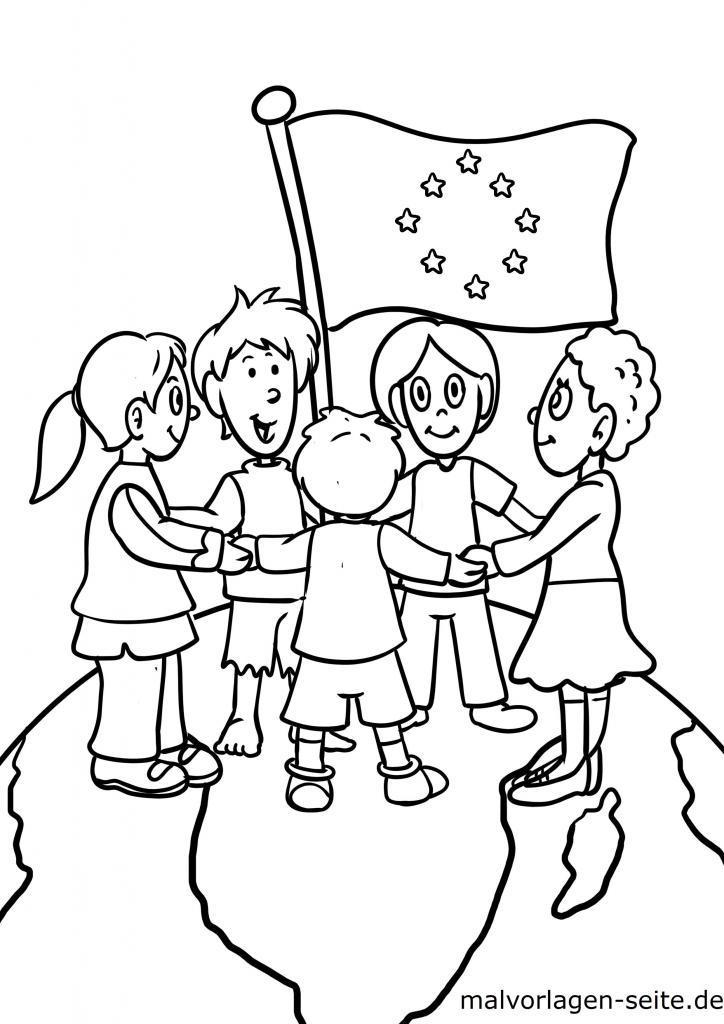 malvorlagen kinder kostenlos herunterladen und ausmalen