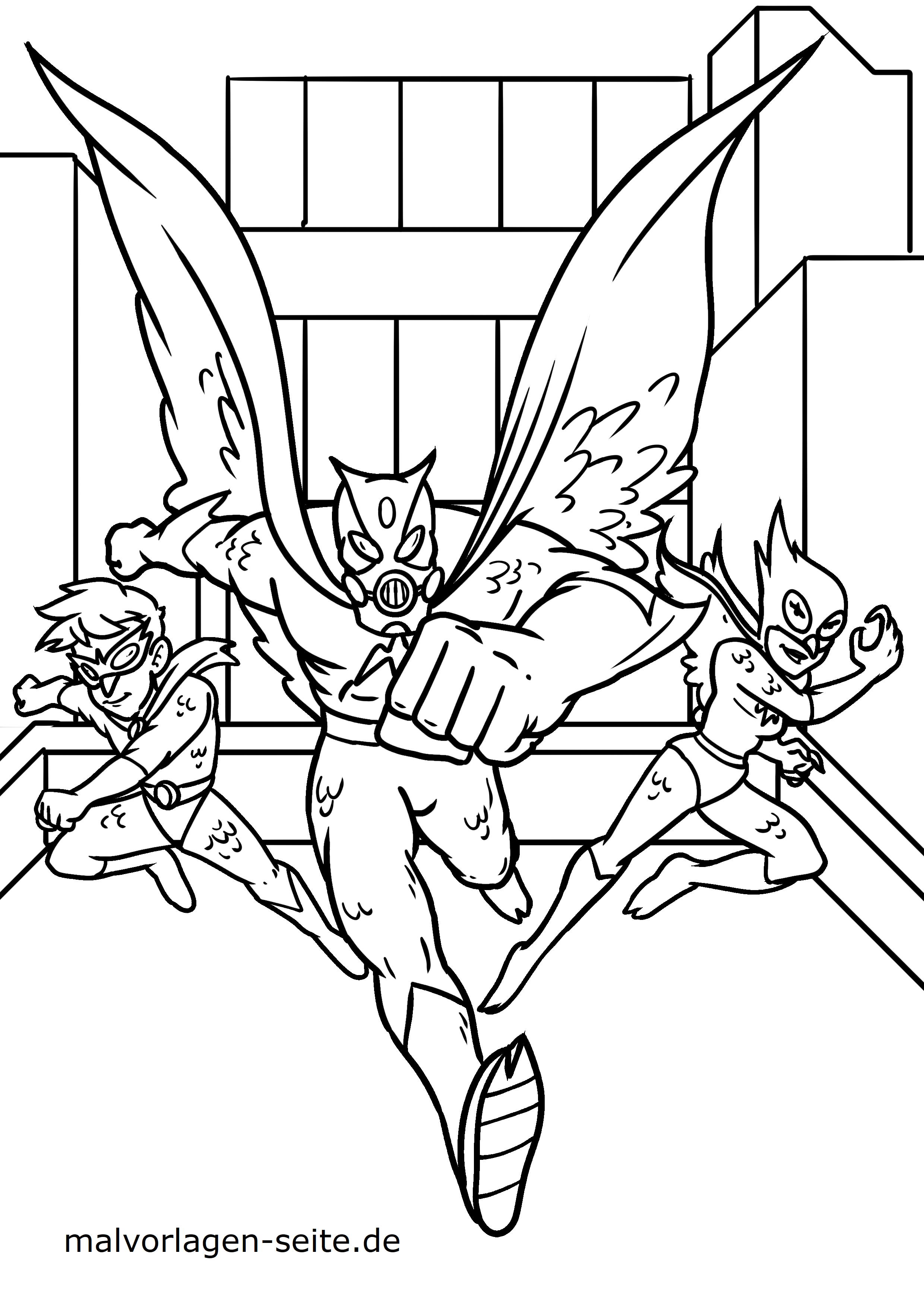 superhelden vorlagen zum ausmalen  malvorlagen