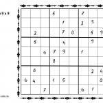Sudoku 9x9 Vorlage