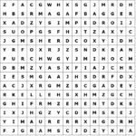 Letter riddle word grid construction site