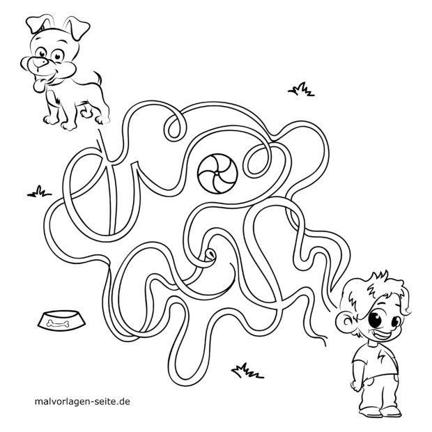 Maze for kids - find your way