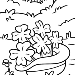 Coloring page St. Patrick's Day | public holidays