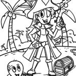Disegni da colorare di pirati - pagine da colorare gratis