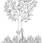 Malvorlage Gartenarbeit Schaufeln | Familie