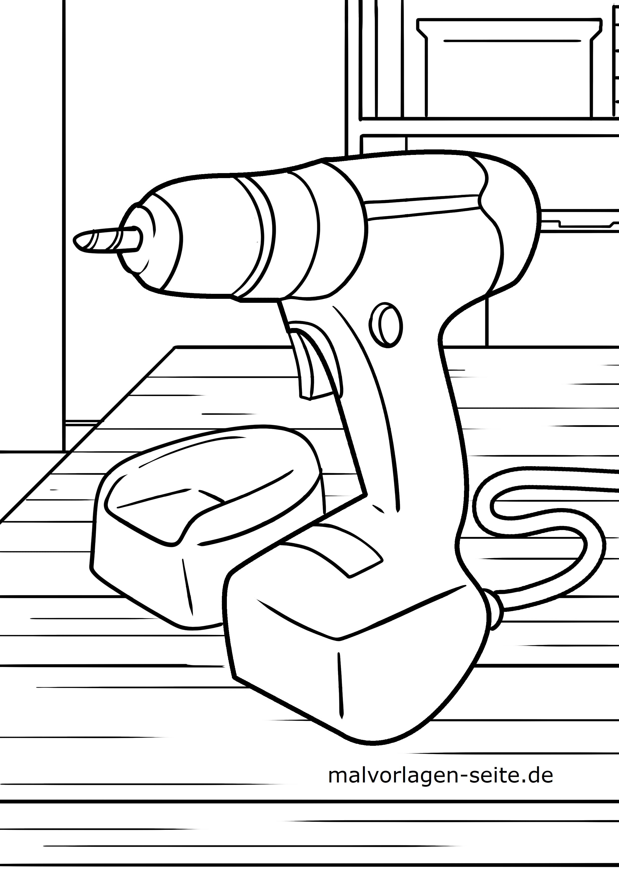 Malvorlagen Werkzeuge Kostenlos Herunterladen Und Ausdrucken