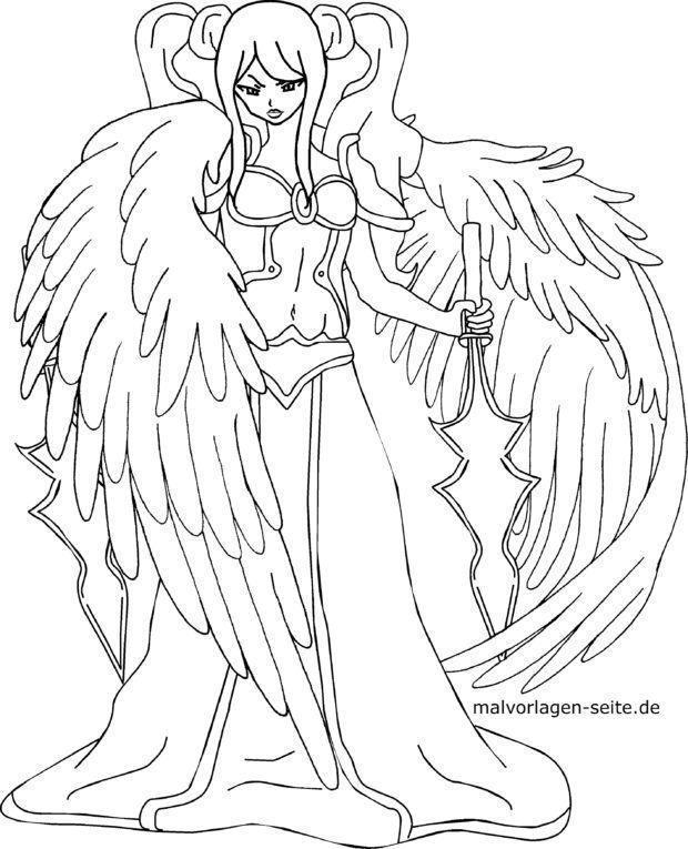 Coloriage Manga Personnage De Dessin Anime Coloriages Gratuits