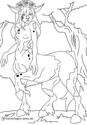 Rangli sahifa manga - ayol centaur