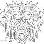 Coloring Pages Mosaic Pictures Mosaic Drawings