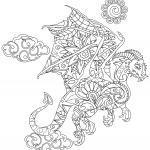 Animals Mandala free for coloring
