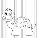 Coloring page for little children to color