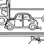 Página para colorir carro