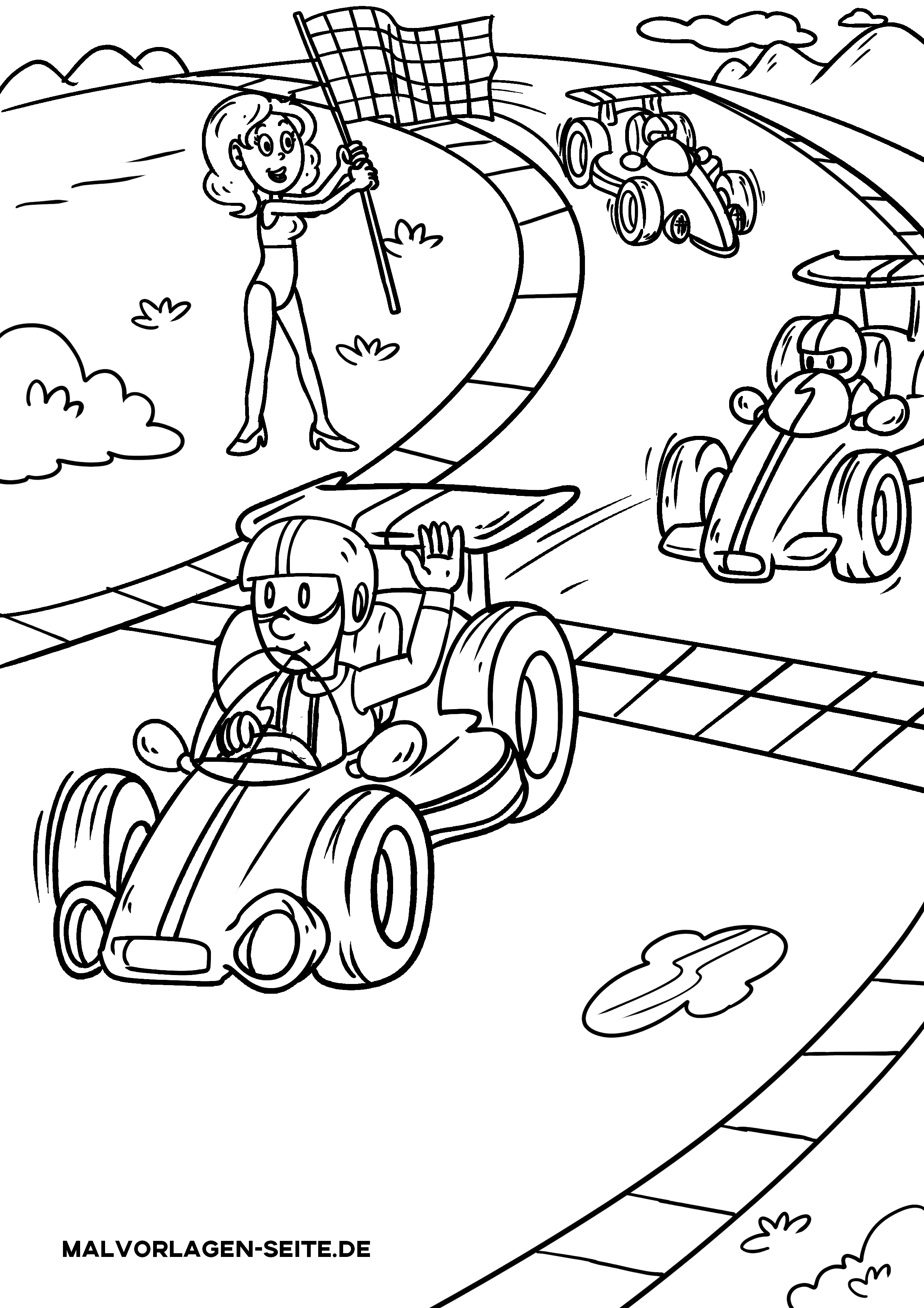 Coloring page car - free coloring pages