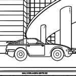 Coloring page car sports car