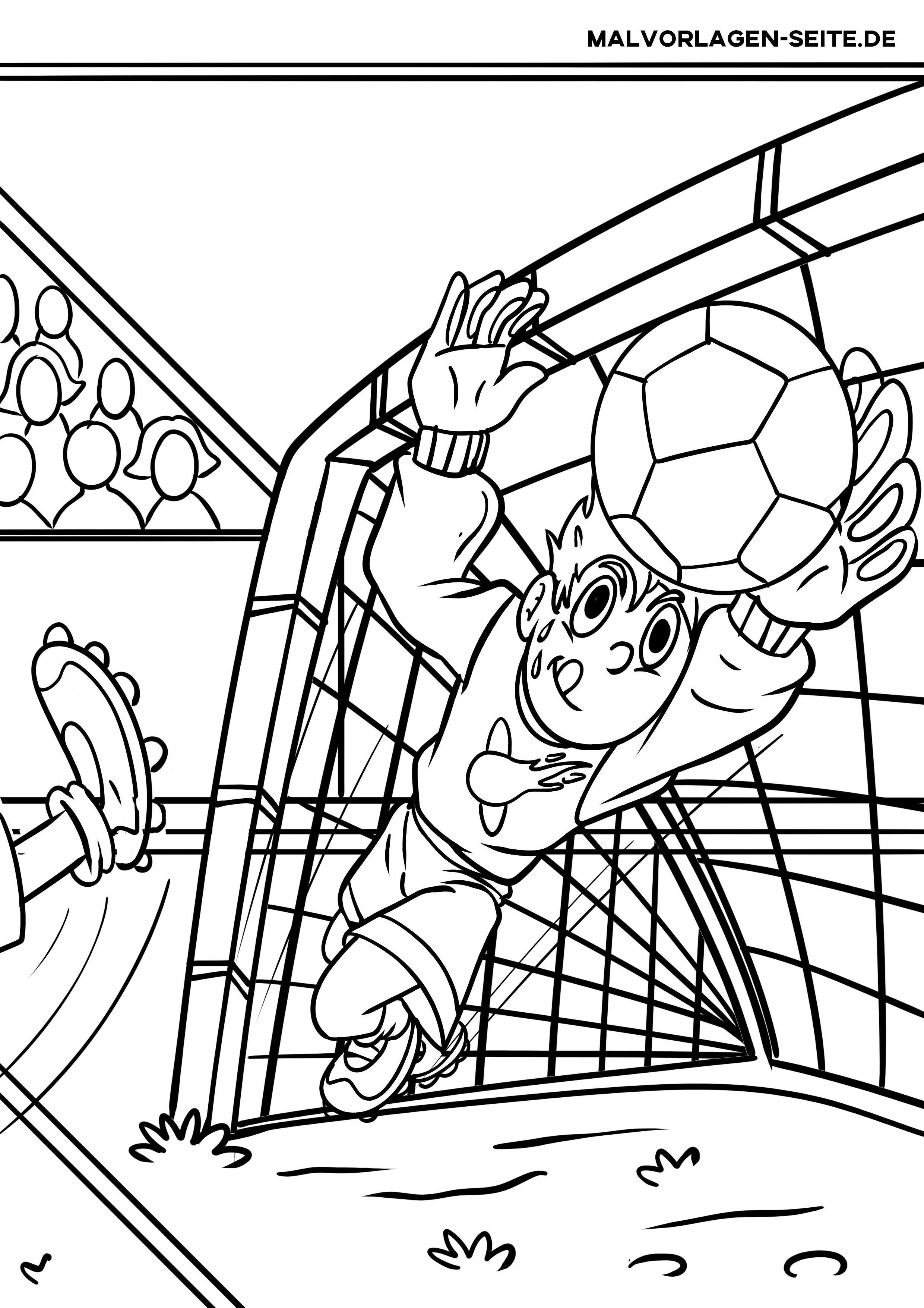 Malvorlagen Fussball Kostenlos Herunterladen Drucken Und