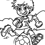 Coloriages de sports de balle | Sport avec ballon