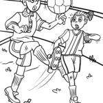Short story for kids - football defeat