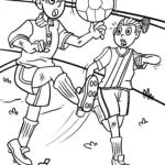 Lyhyt tarina lapsille - jalkapallo-tappio