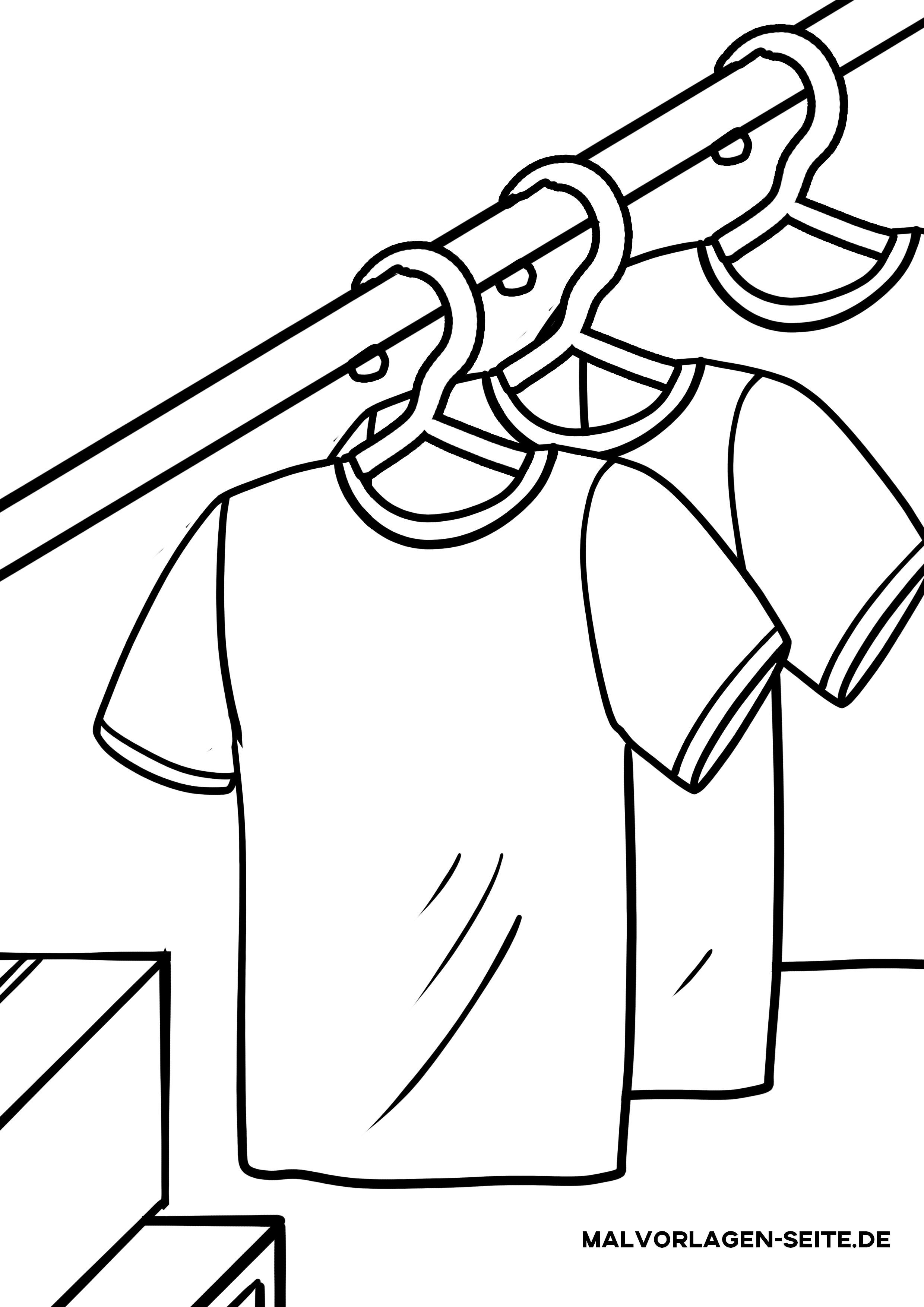 t shirt ausmalbild - ausmalbilder und vorlagen
