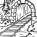 Malvorlage Tunnel | Gebäude