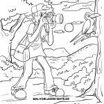 Coloring page Photographer for coloring for children