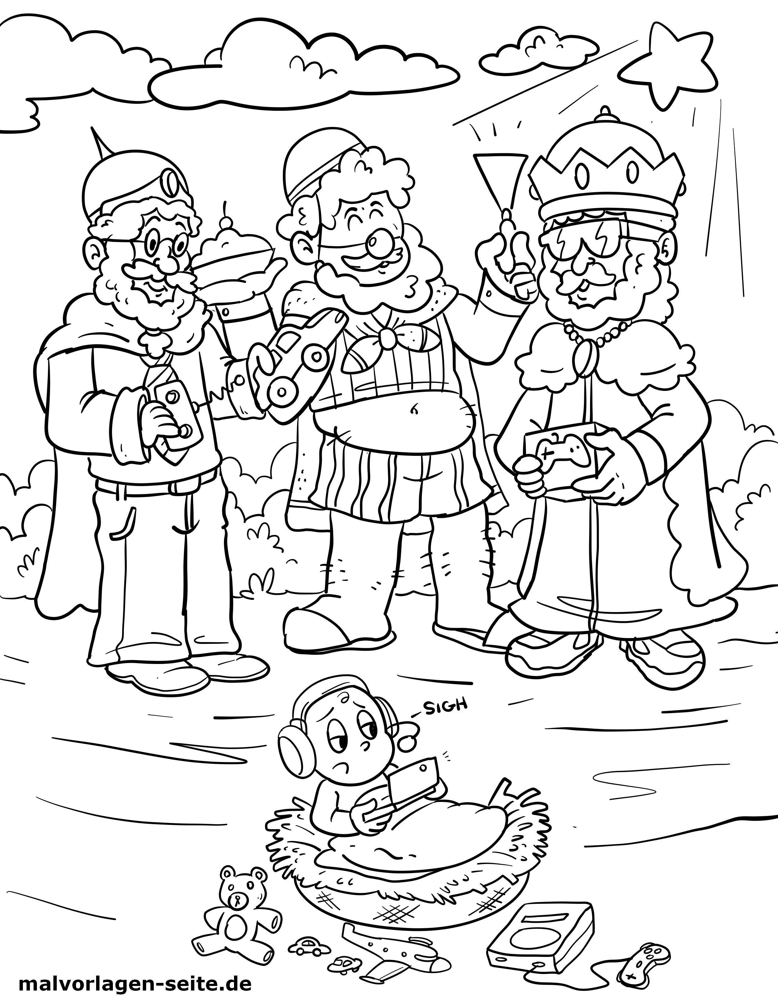 35 ausmalbild heilige drei könige  besten bilder von