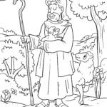 Размалёўка пастухоў | рождество