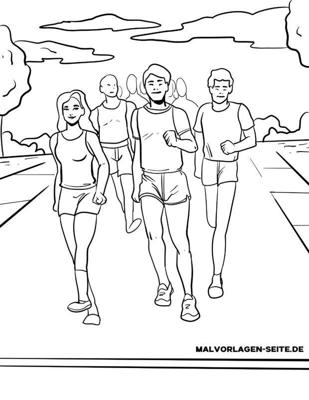 Bojanka maratonska atletika