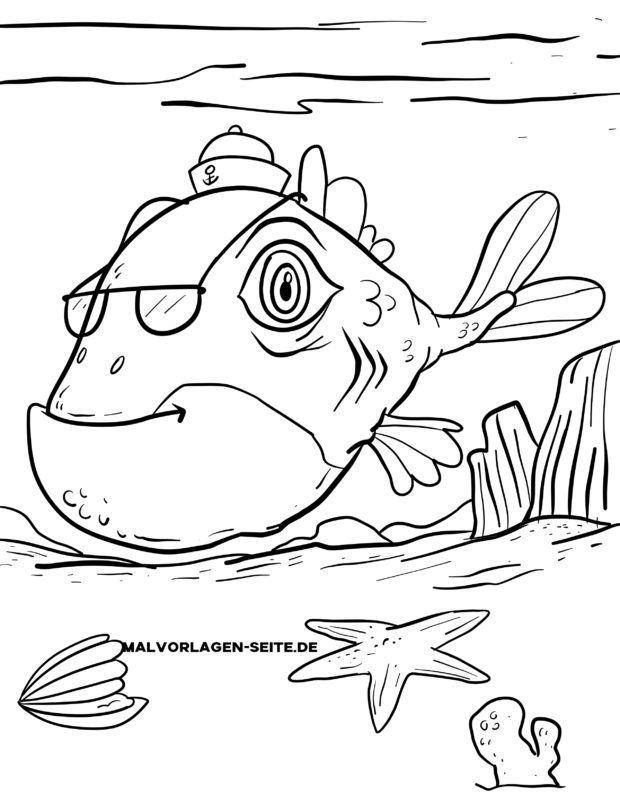 Malvorlage Monster