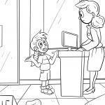 Farvelægning Hjælp når mor og far er væk