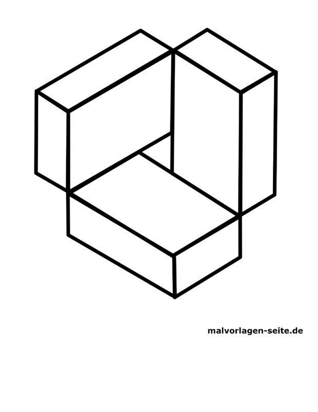 Nemogoča figura-kuboid