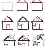 Kako nacrtati kuću
