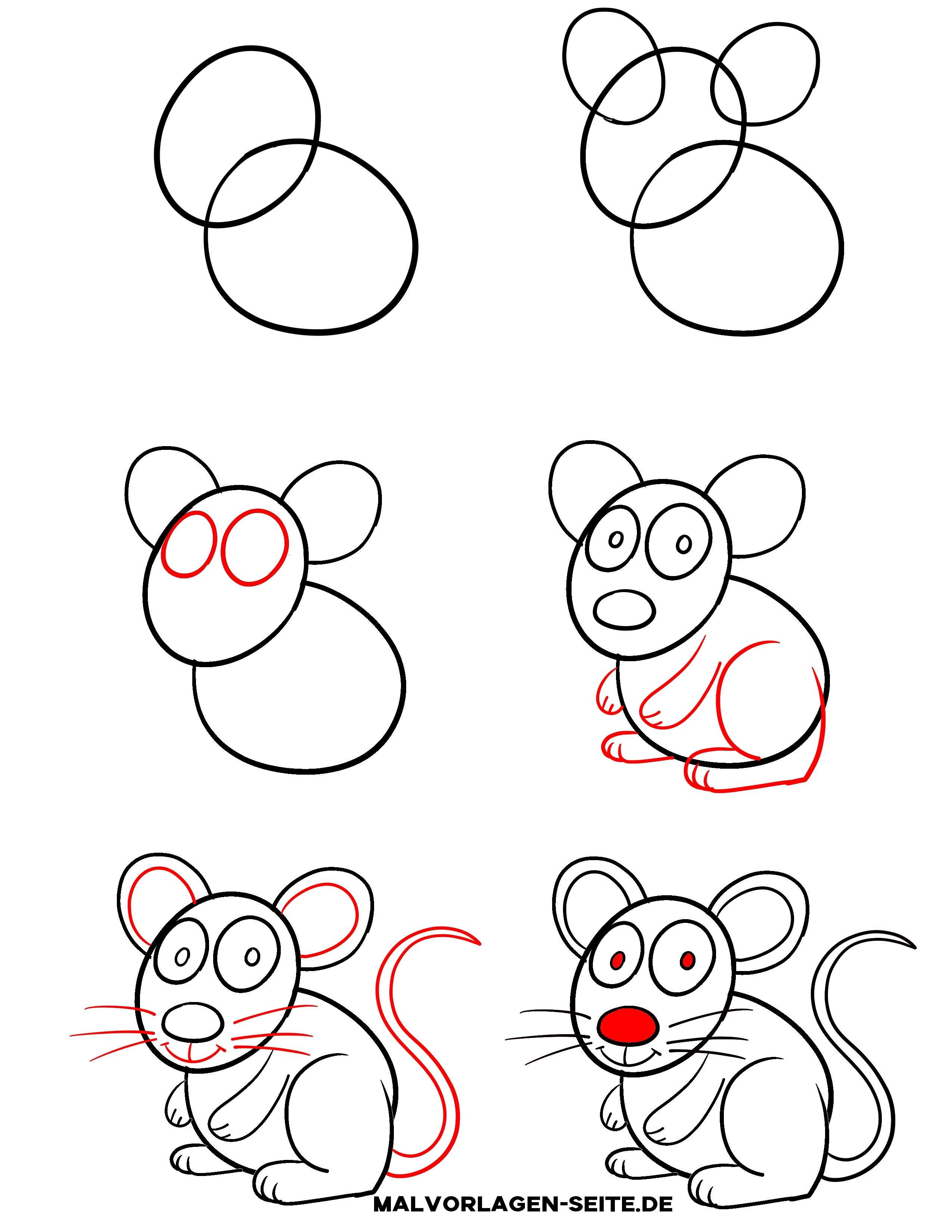 malvorlagen einfache zeichnungen fur kinder