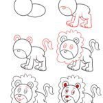 How to draw a lion | Animals lion