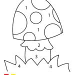 Malen nach Zahlen Pilz
