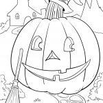 Coloring page Halloween for coloring
