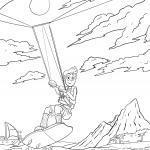 საღებარი გვერდი kitesurfing შეღებვისთვის