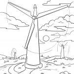 Why do wind turbines have three blades? children question